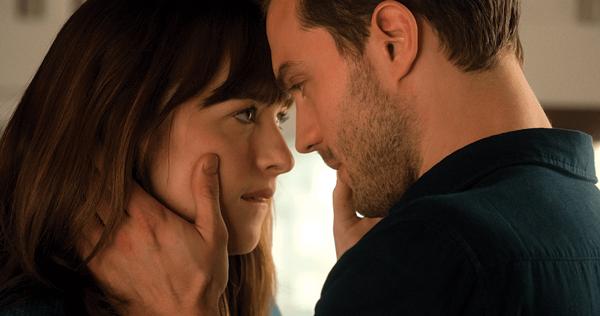Dakota Johnson and Jamie Dornan star in the train wreck that is Fifty Shades Darker.