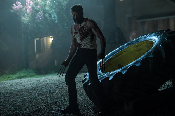 """Hugh Jackman reprises his role as the mutant Wolverine in """"Logan."""" Photo courtesy of 20th Century Fox."""