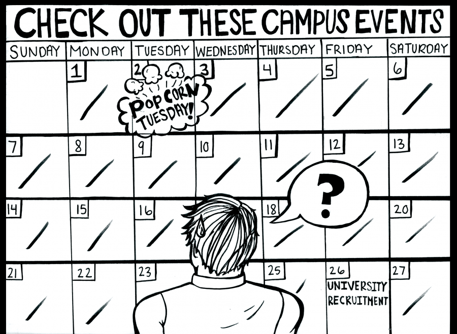 Editorial%3A+Campus+lacks+events