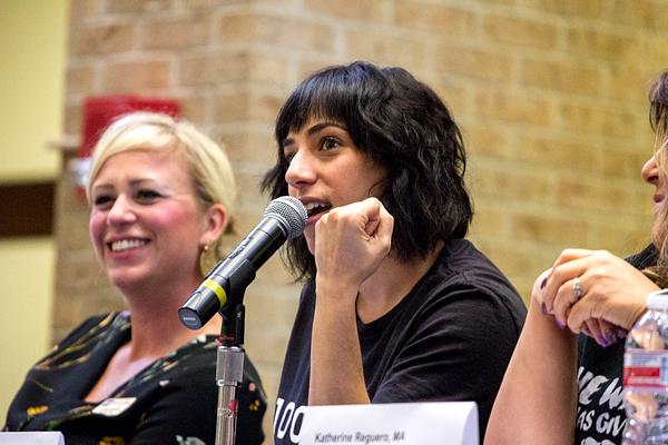 Female campus leaders unite for 'nasty' panel