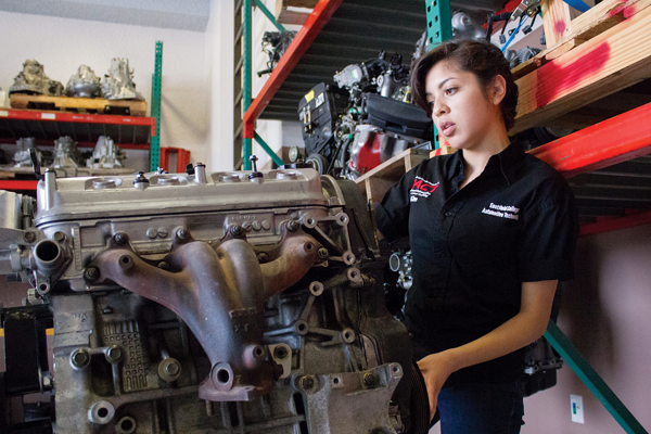 Q&A: Female mechanic defies expectations, social pressures