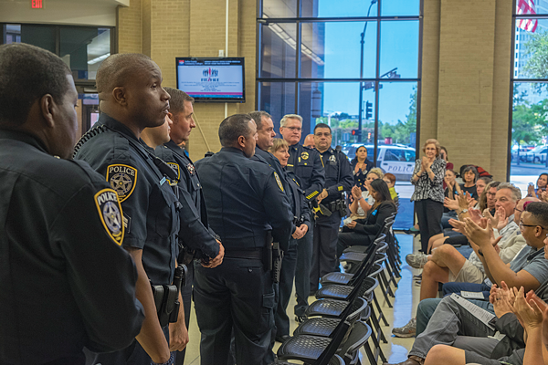 One year later: El Centro College honors fallen officers