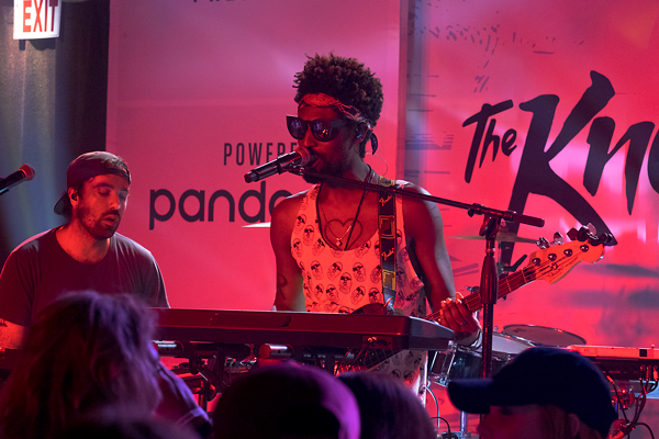 The Knocks incorporate instruments like guitar, piano and drums to go along with their electronic style. The Knocks just released their new EP, Testify. Photo by Bryan Perez/The Et Cetera