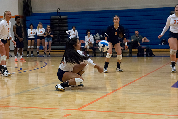 Volleyball maintains perfect record in conference