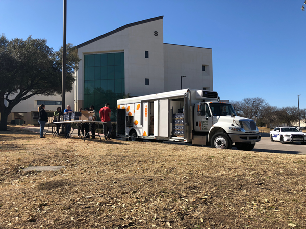 Partnership for mobile pantry aims to reduce student hunger