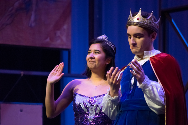 Maria Cabrera and Victor Deterra star in The Harvester Theatre Company's performance of