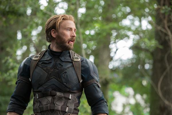 Chris Evans reprises his role of Steve Rogers/Captain America. Photo courtesy of Walt Disney Pictures.