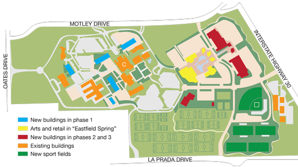 (East)field of Dreams: New plan to improve campus in board's hands