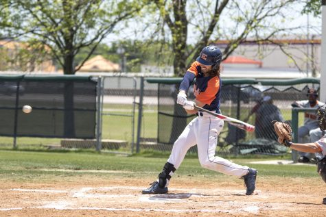 Jordan Parker sits at 56 RBIs for the season. He is currently second in the NJCAA Division III but has led the country for the majority of the season. Photo by Willie R. Cole/The Et Cetera