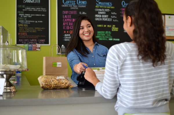 Unrefined Bakery offers foods for all people, no matter their food allergies. Photo by Jocyln Ventura/The Et Cetera