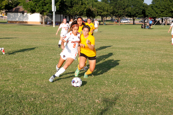 The Eastfield soccer team has a 3-3 record in conference play and 1-7 out of conference. Jonathan Diaz/The Et cetera