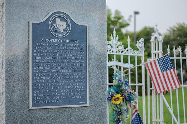 The Motley Cemetery. Et Cetera file photo.