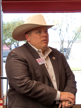 Aaron Meek lost the Dallas County Sheriff election against Marian Brown, 36 percent to 64 percent.