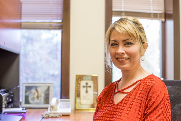 A love for teaching and learning:  Ana Rodriguez pursues education as her primary passion in life