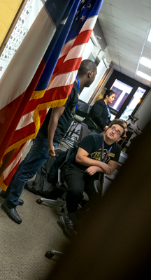 As of Nov. 30, three officers have stepped down, leaving only three officers in SGA. Photo by Jesus Ayala/The Et Cetera