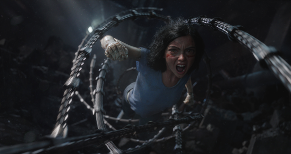 """""""Alita: Battle Angel"""" delivers on James Cameron's reputation for breathtaking visual effects. Courtesy 20th Century Fox"""