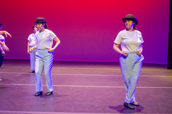 Dancing in silence: deaf student shines on stage