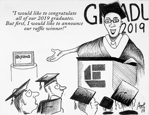 EDITORIAL: Graduation errors expose ineptitude in communication