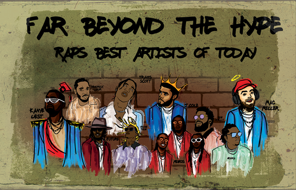 Far beyond the hype: Rap's best artists of today