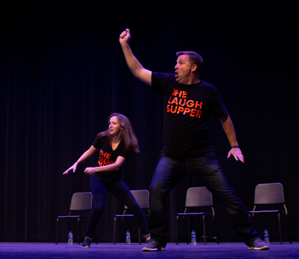 Photo gallery: Lunge into a night of comedy with The Laugh Supper
