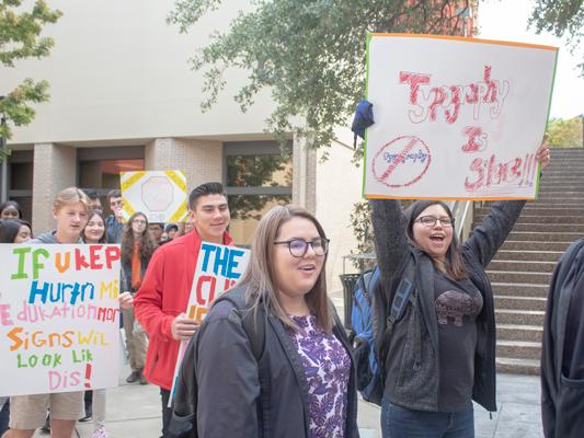 Rising protest trend mimics previous generation