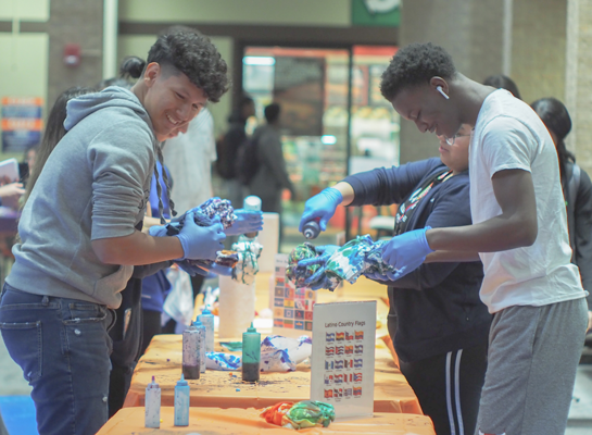 Eastfield gets colorful at Express Yourself event