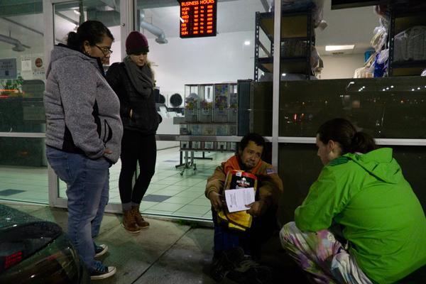 Group spotlights homelessness among students