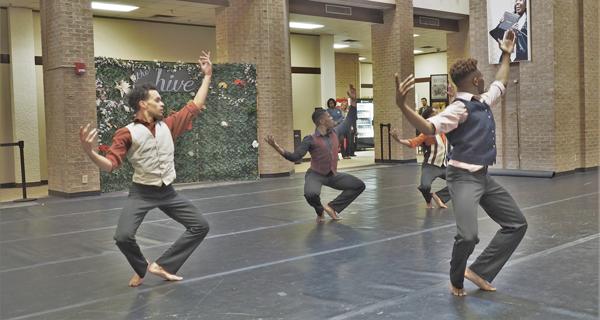 Video: Dallas Black Dance Theatre comes to Eastfield