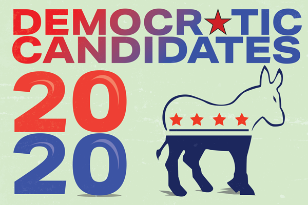 Take a closer look at the 2020 U.S. Democratic presidential candidates