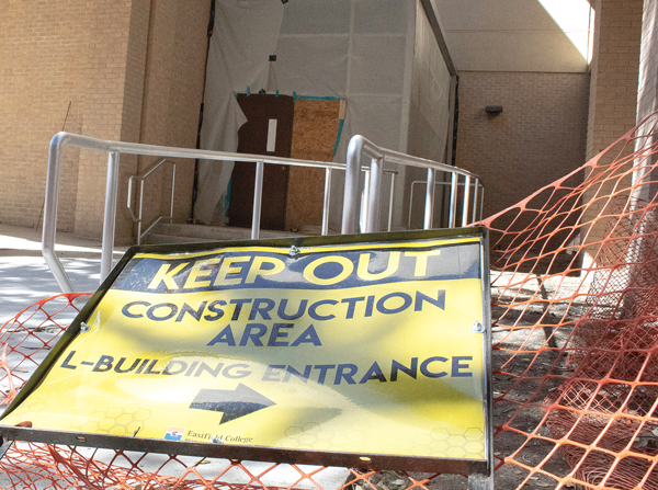 Campus construction inches closer to completion