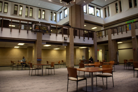 Quiet on campus: COVID-19 keeps Eastfield relatively empty