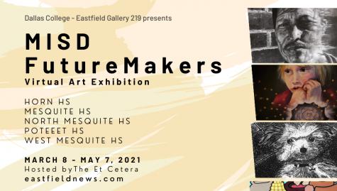Future Makers Art Galley Exhibit decorative graphic
