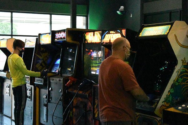 RetroCade in Rowlett offers more than 80 classic arcade games . RetroCade is celebrating its one-year anniversary on June 12.  Photo by Chantilette Franklin/The Et Cetera