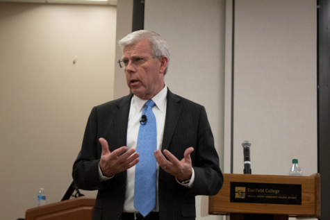 Chancellor Joe May will retire in August 2022 as planned. Photo by Baylie Tucker/The Et Cetera
