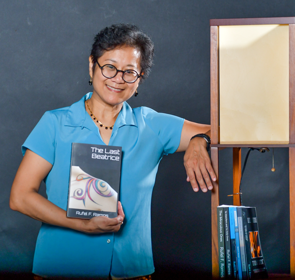 English faculty Rufel Ramos has published an autobiography, two textbooks and three novels. Photo by Chantilette Franklin/The Et Cetera